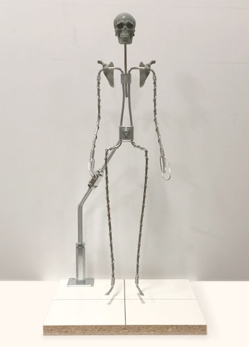 Pose-able Skeleton with Base